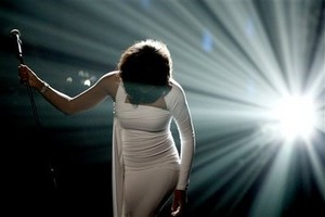 Whitney Houston (seen at the AMA's) is coming to Dancing with the Stars on Tuesday