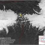 Iceland Volcano Satellite Image