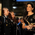 Sandra Bullock receives the Troops Choice Award