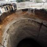 Sinkhole in Guatemala 2010