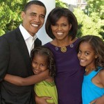 Barack Obama Family Images