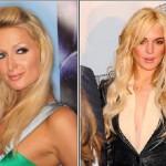 Lindsay Lohan & Hilton