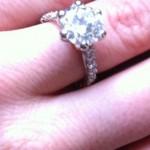 Crystal Harris & Ring