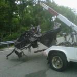 Ryan Dunn Car Crash Photos