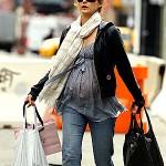 Keri Russell & Baby