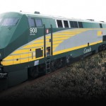 Via Train Hits Car