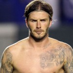 David Beckham Harper Tattoo