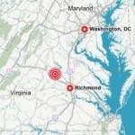 Earthquake In Virginia Today
