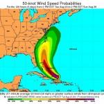 Hurricane Irene Path