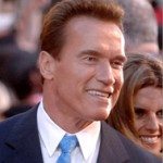 Schwarzenegger Flight Attendant