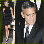 George Clooney Stacy Keibler Toronto