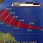 Tropical Storm Maria 2011