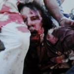 Gadhafi Photo Dead