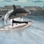 Great White Shark Jump