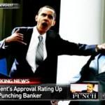 Obama Punches Banker