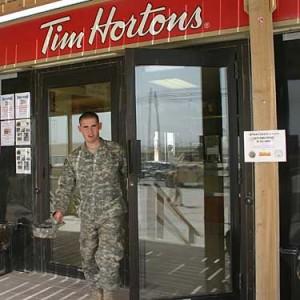 Tim Hortons Kandahar