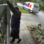 Fedex Delivery Over Fence