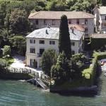 George Clooney Lake Como Villa