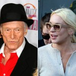 Hefner Pushed Lohan