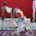 Lindsey Vonn and Tebowing