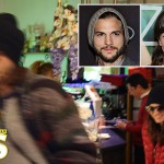 Lorene Scafaria And Ashton Kutcher