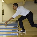 President Obama's Bowling Score 37