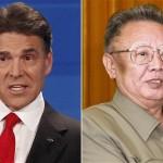 Rick Perry Kim Jong II