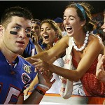 Tebow Names Favorite Actors, Band