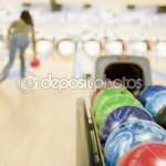 Woman Bowling Ball