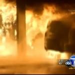 Arson Fires LA