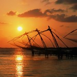 Chinese Net, Fishing, Kerala, India