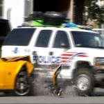 D.C. Cop Crashes Into Bumblebee