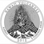 Hawaii Volcano 2012 Coin