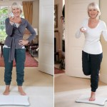 Helen Mirren WII Fit
