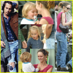 Johnny Depp And Family
