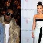 Kim Kardashian Amber Rose Kanye West