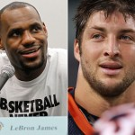 Lebron James Tim Tebow