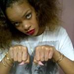 Rihanna Thug Life Tattoo