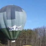 Ron Paul Hot Air Balloon Traffic