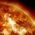 Strong Solar Storm's Effects Hit Earth