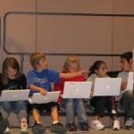 Teacher Student Sing Strip