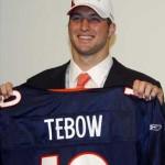 Tim Tebow Broncos